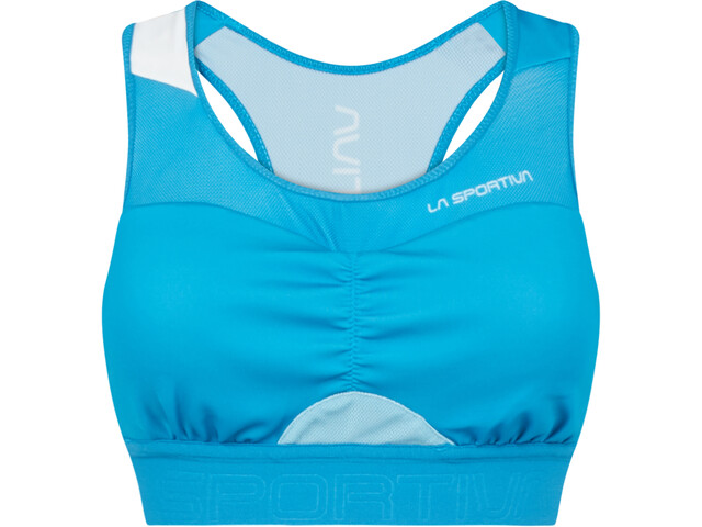 La Sportiva Captive Sports Bra Women neptune/pacific blue